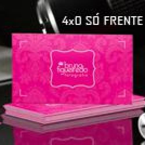Cartão Visita - 250G 4x0